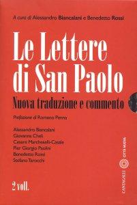 Copertina di 'Le lettere di san Paolo'