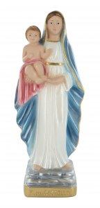 Copertina di 'Statua Regina del Castello in gesso madreperlato dipinta a mano - 20 cm'