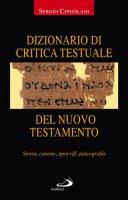 Dizionario di critica testuale del Nuovo Testamento - Cingolani Sergio