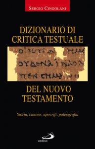 Copertina di 'Dizionario di critica testuale del Nuovo Testamento'