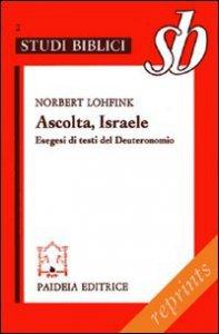 Copertina di 'Ascolta, Israele'