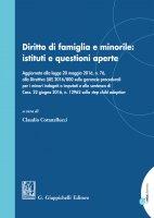 Diritto di famiglia e minorile: istituti e questioni aperte - Claudio Cottatellucci, Valeria Montaruli, Paolo Morozzo Della Rocca