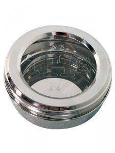 Copertina di 'Scatola porta ostie in acciaio inox - diametro 8 cm'