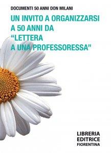 """Copertina di 'Un invito a organizzarsi a 50 anni da """"Lettera a una professoressa""""'"""
