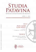 Studia Patavina 2021/1