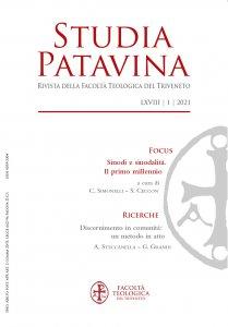 Copertina di 'Studia Patavina 2021/1'
