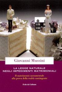 Copertina di 'La legge naturale negli impedimenti matrimoniali'