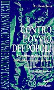 Copertina di 'Contro l'ovvio dei popoli. Provocazioni su droga, comunità terapeutiche, vere e false guarigioni'