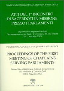 Copertina di 'Atti del 1° incontro di sacerdoti in missione presso i parlamenti'