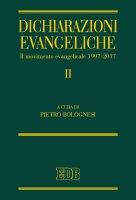 Il dichiarazioni evangeliche II