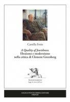 «A Quality of Jewishness». Ebraismo e modernismo nella critica di Clement Greenberg - Froio Camilla