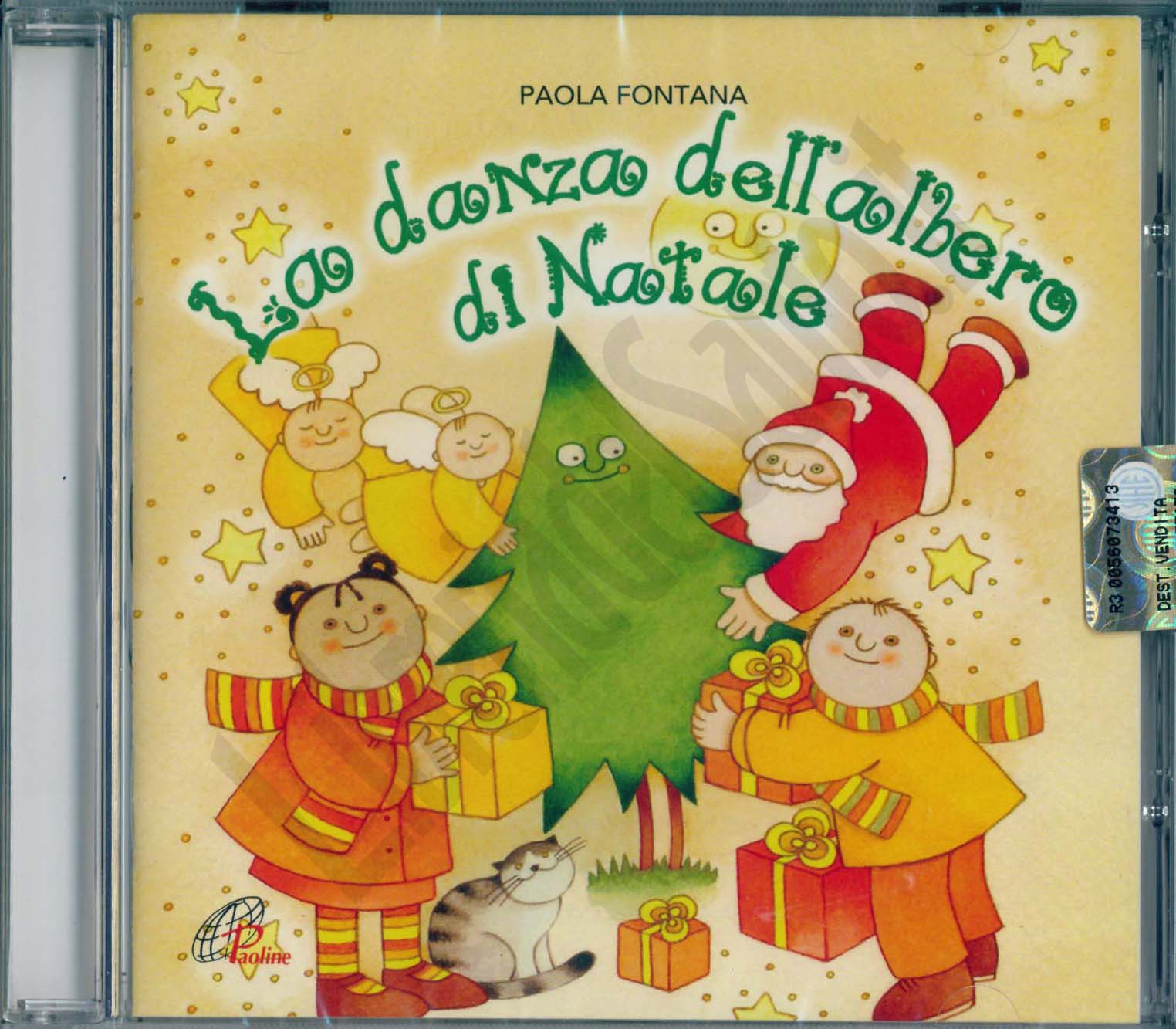 La Danza Dellalbero Di Natale Paola Fontana Cd Musica Natalizia