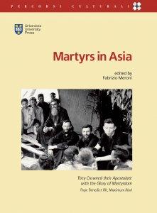 Copertina di 'Martyrs in Asia'