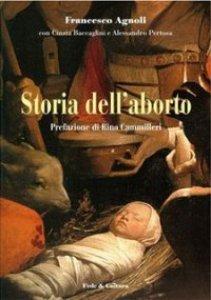 Copertina di 'Storia dell'aborto'