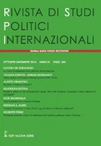 Copertina di 'Rivista di studi politici internazionali (2015)'
