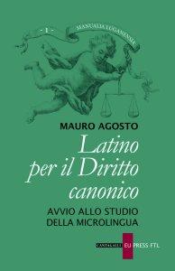 Copertina di 'Latino per il diritto canonico'