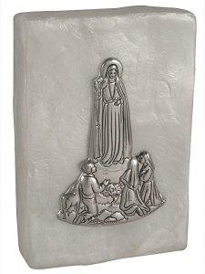 Copertina di 'Scatola in madreperla con Madonna di Fatima'