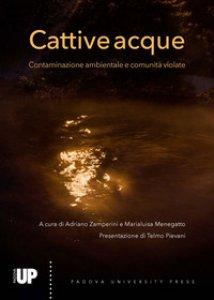 Copertina di 'Cattive acque. Contaminazione ambientale e comunità violate'