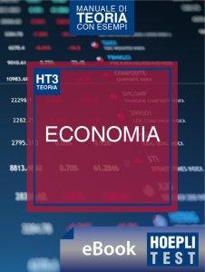 Copertina di 'Hoepli Test 3 - Economia'