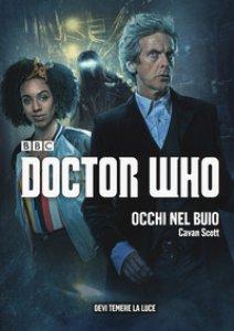 Copertina di 'Occhi nel buio. Doctor Who'
