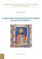 Il processo matrimoniale più breve davanti al Vescovo - Massimo Del Pozzo