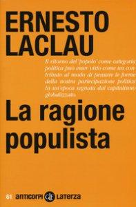 Copertina di 'La ragione populista'