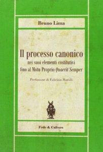 Copertina di 'Il processo canonico'