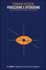 Copertina di 'Percezione e attenzione'
