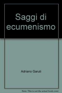 Copertina di 'Saggi di ecumenismo'