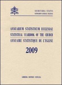Copertina di 'Annuarium statisticum Ecclesiae (2009)'