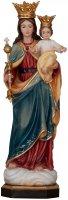 """Statua in legno dipinta a mano """"Maria Ausiliatrice"""" - altezza 23 cm"""