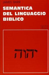 Copertina di 'Semantica del linguaggio biblico'