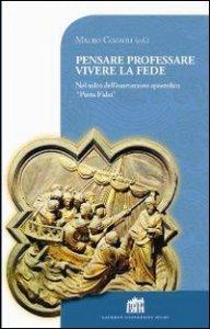 Copertina di 'Pensare professare vivere la fede'