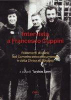 Intervista a Francesco Cuppini - Zanni Tarcisio