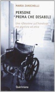 Copertina di 'Persone prima che disabili'