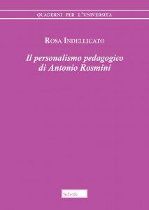 Copertina di 'Il personalismo pedagogico di Antonio Rosmini'