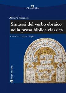 Copertina di 'Sintassi del verbo ebraico nella prosa biblica classica'