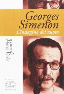 Copertina di 'Georges Simenon. L'indagine del vuoto'