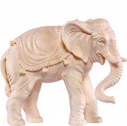 Copertina di 'Elefante B.K. - Demetz - Deur - Statua in legno dipinta a mano. Altezza pari a 12 cm.'