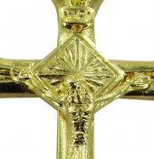 Immagine di 'Croce in metallo dorato con Cristo - 3 cm'