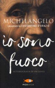Copertina di 'Michelangelo. Io sono fuoco'