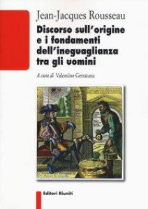 Copertina di 'Discorso sull'origine e i fondamenti dell'ineguaglianza tra gli uomini'
