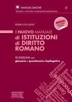Il nuovo Manuale di Istituzioni di Diritto Romano - Federico del Giudice