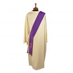 Copertina di 'Stola diaconale viola con croce stilizzata'