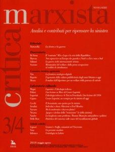Copertina di 'Critica marxista (2018). Vol. 3-4'