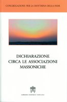 Dichiarazione circa le associazioni massoniche - Congregazione per la Dottrina della Fede