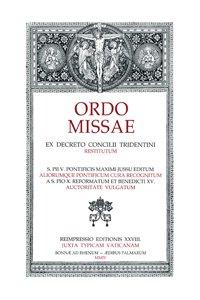 Copertina di 'ORDO MISSAE dal MISSALE ROMANUM'