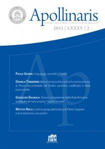 Copertina di 'Instrumenta publica ed instrumenta privata: la Prova documentale nel Diritto canonico codificato e nella prassi rotale'