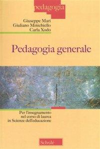 Copertina di 'Pedagogia generale'