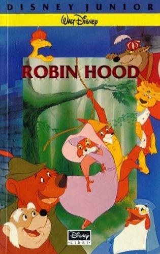 Robin Hood Libro Walt Disney Company Italia 1993